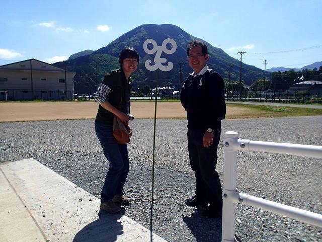 おおやアート村ビッグラボ!に行ってきましたその(1)~大屋富士男校長先生