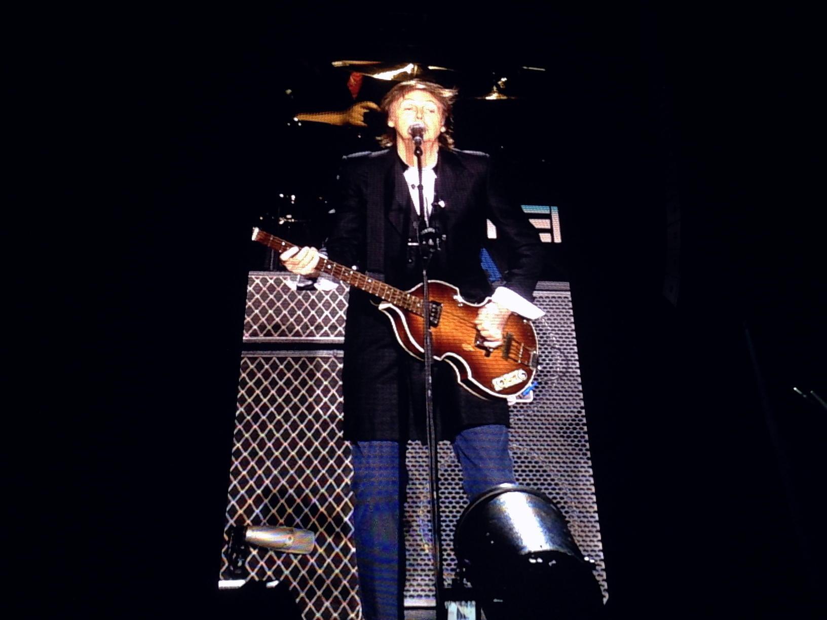 繁忙期にゴメンナサイ!ポール・マッカートニーのコンサートに行ってきました!!
