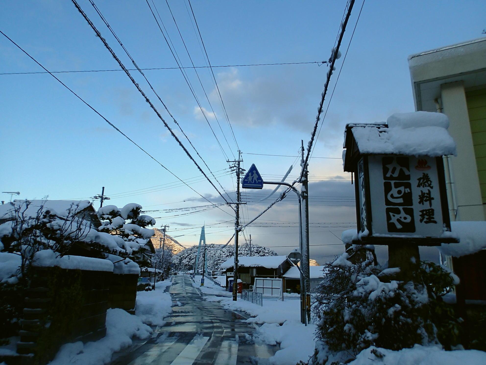 佐津谷<香住>、朝の美しい風景♪