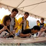 今年の「初夏!ジオパークで食べるイカソーメン早食い大会」は6月12日です!