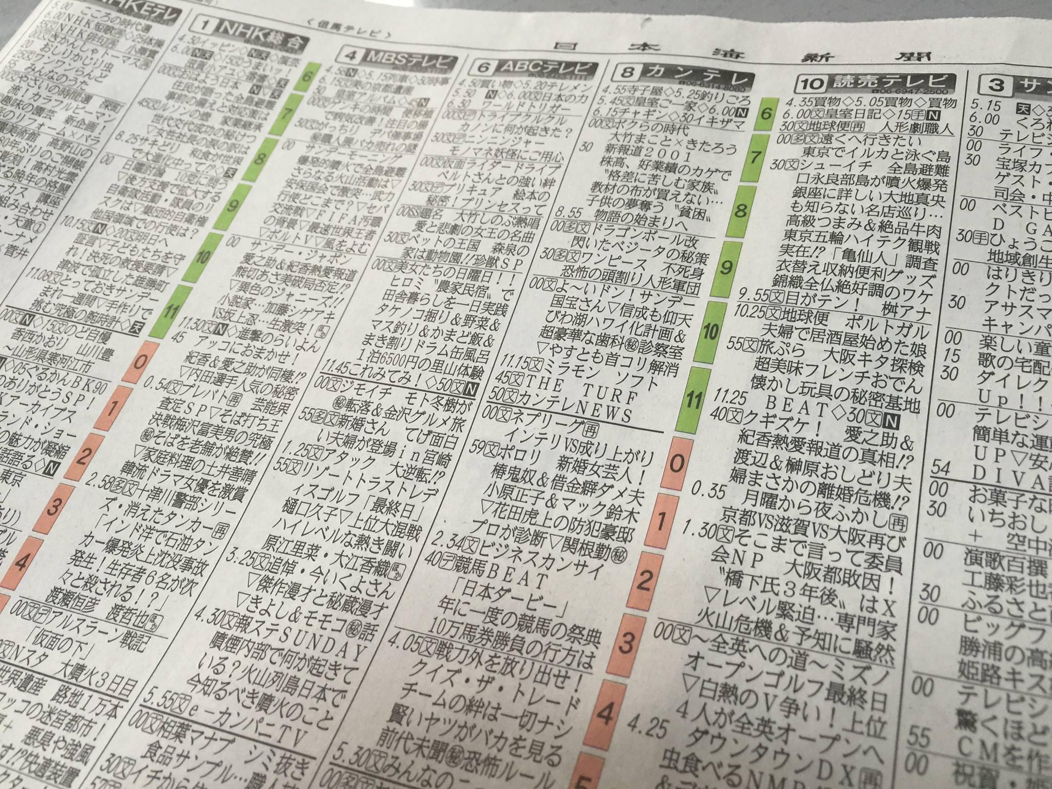 【悲報】宮崎のテレビ欄がヤバすぎると話題に これもう日本じゃないだろ  [502016552]->画像>58枚