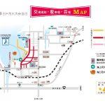 2016年香住海上花火大会、駐車場のご案内とJR、臨時シャトルバスについて