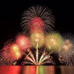 かすみふるさとまつり「香住海上花火大会」の写真