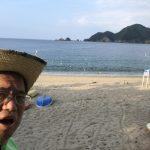 夏季シーズン中に一度のお勤め☆海水浴場監視当番in佐津海水浴場
