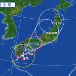 台風5号により明日8月8日は臨時休館といたします~台風は通過後に海が荒れます!