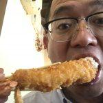 城崎温泉駅前「海女茶屋」さんで話題のランチ、エビフライ定食を食べに行ってきました!