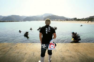 明日はNPO主催の「竹野海そうじプロジェクト」です!