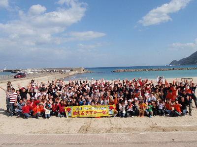豊岡水害から10年。10月19日は竹野で海そうじイベントを行います!!