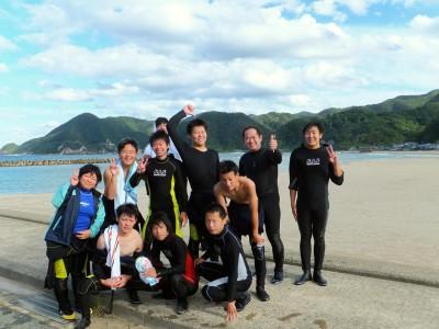 海洋高校ダイビング実習♪(香住高校)