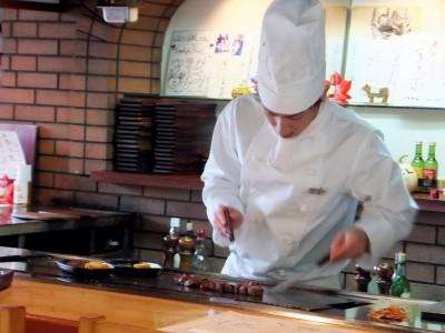 湯村温泉のステーキレストラン「楓」に行って来ました