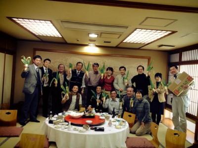 豊岡でジオパーク会議&忘年会に参加してきました♪