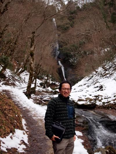 冬の猿尾滝と村岡ファームガーデンに行ってきました!