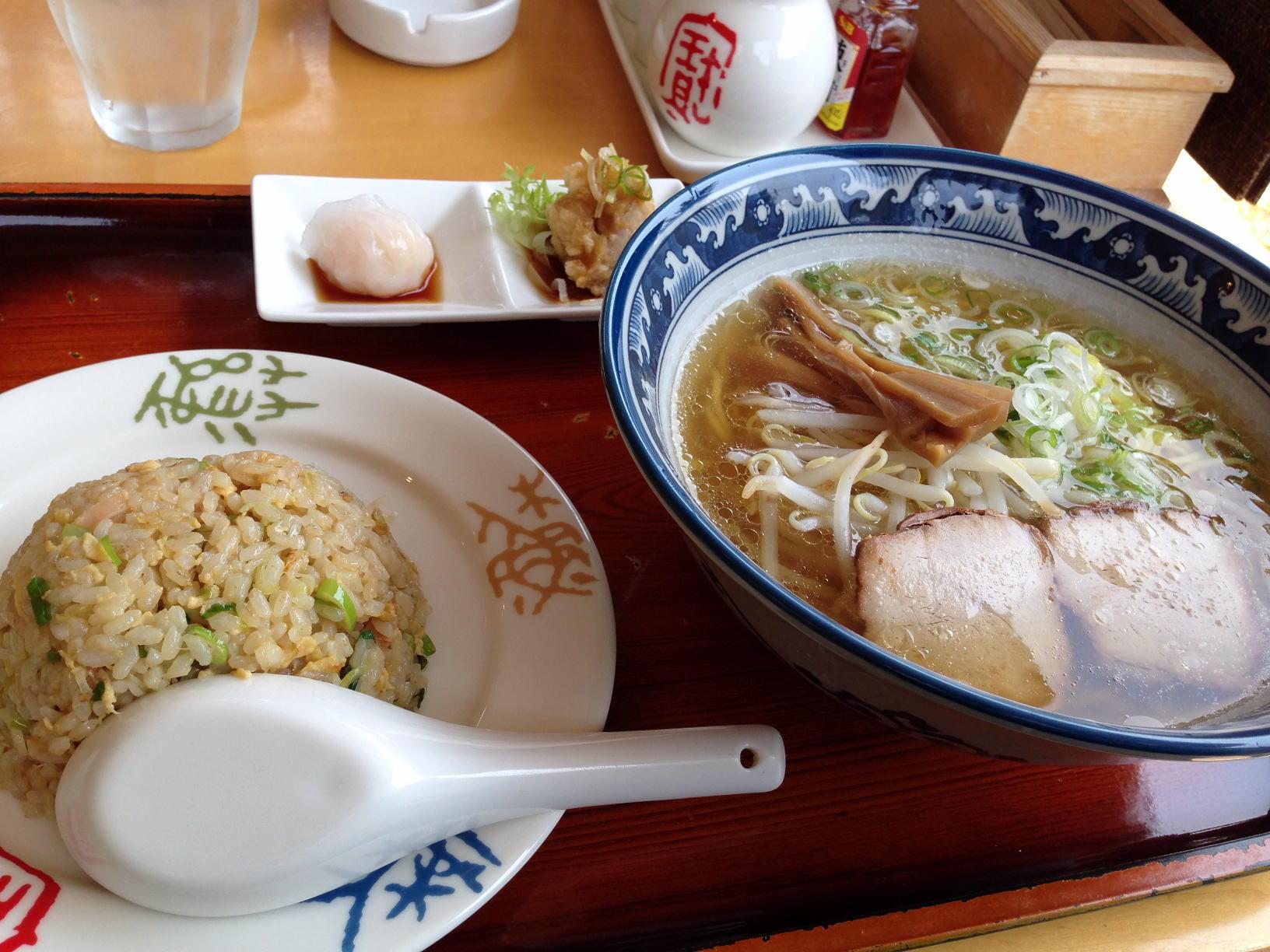 香住・柴山地区にある中華料理屋さん「山珍」(さんちん)