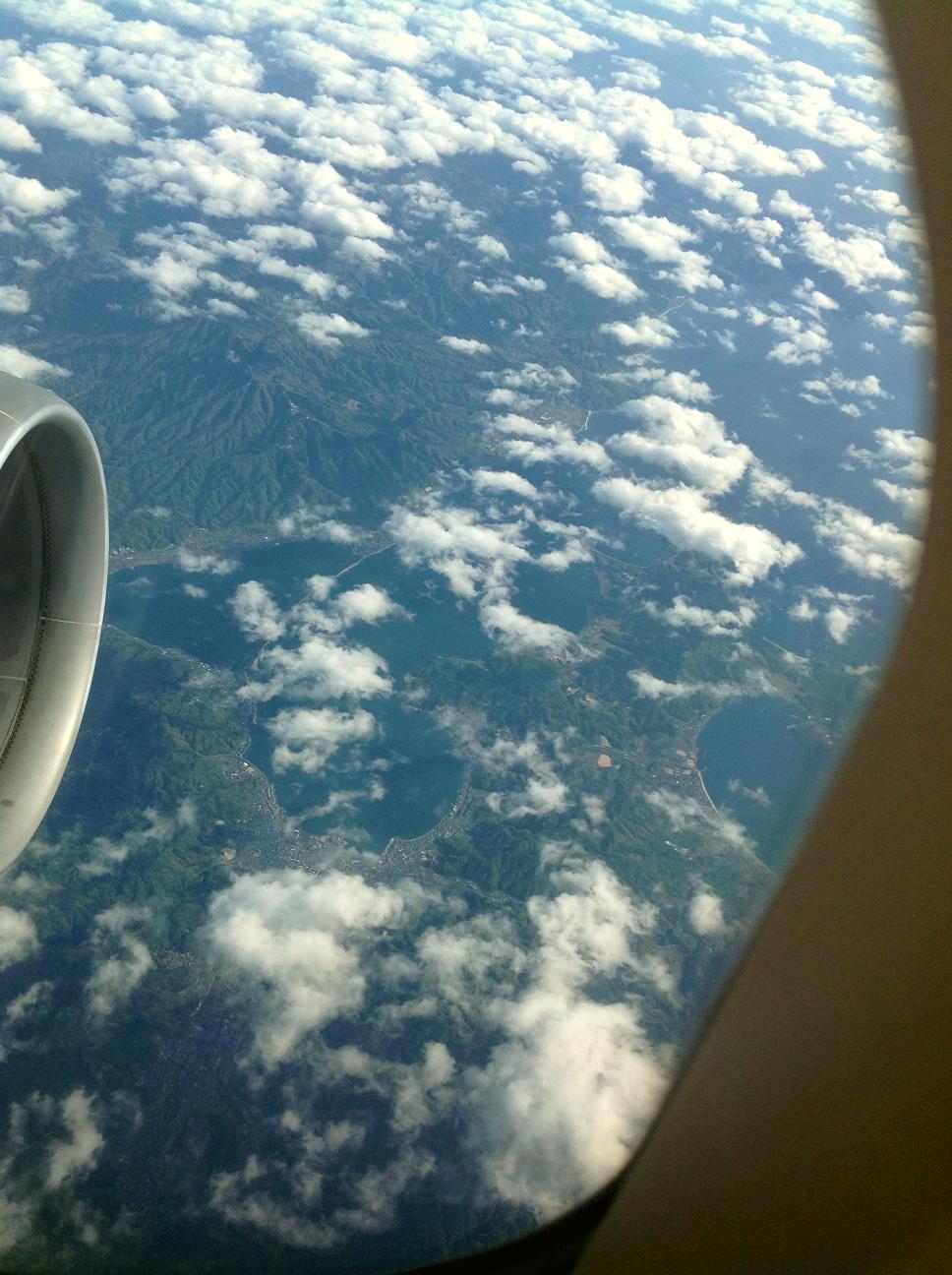 山陰海岸を空から見る!!