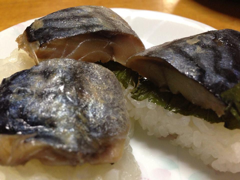へしこ寿司、挑戦中♪
