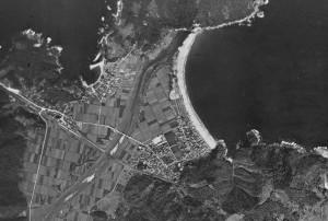 1947年の佐津集落