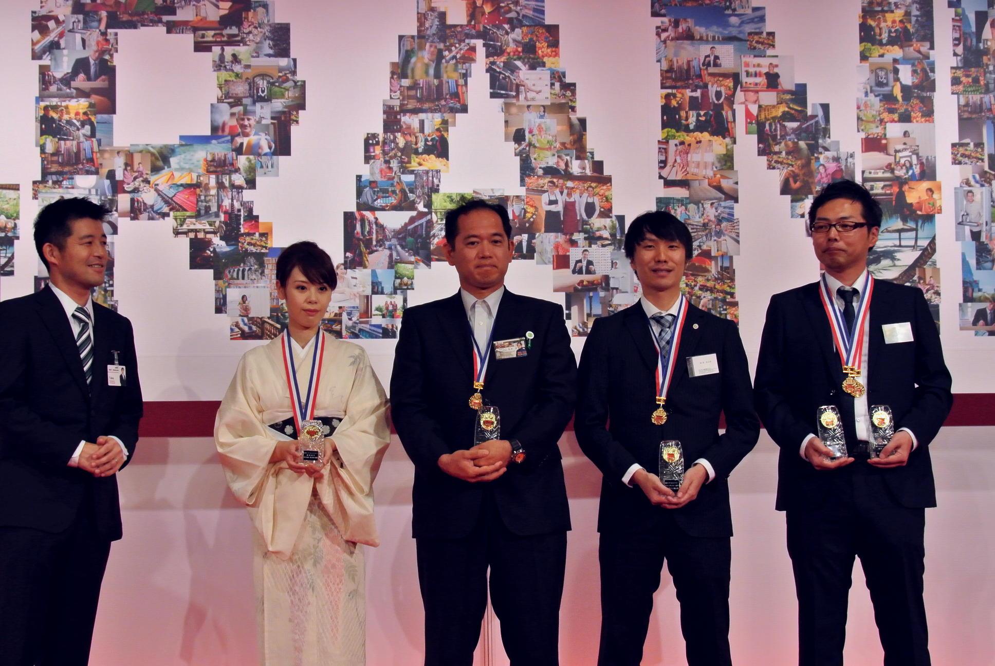 ありがとうございます!!楽天トラベルマイスター2013を受賞いたしました!!