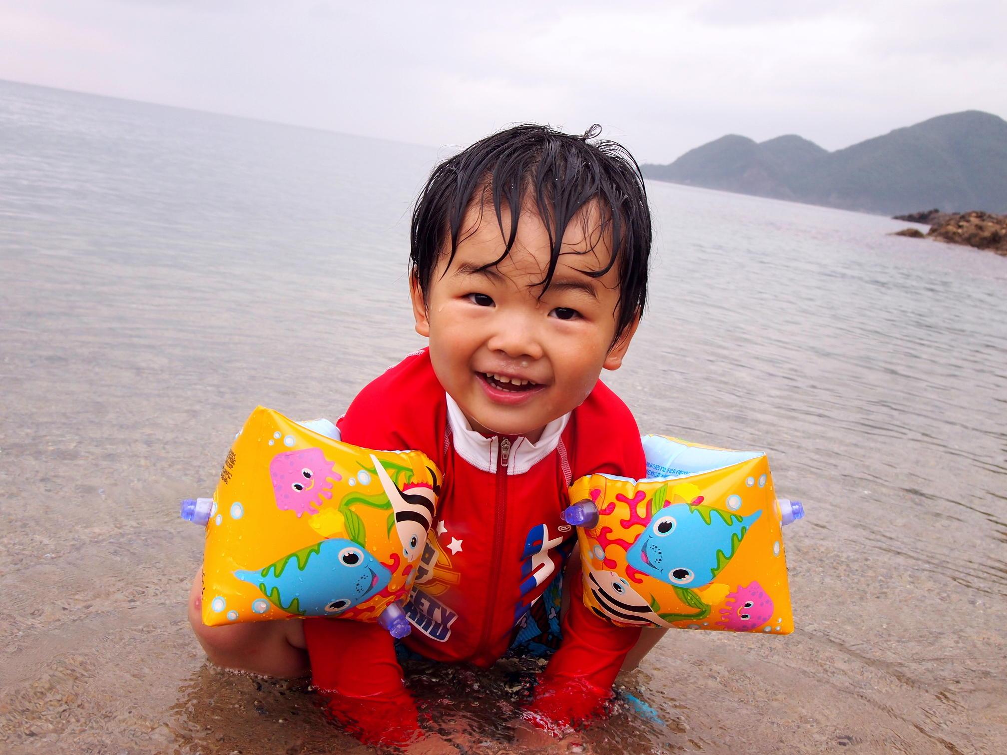 やっぱり海遊びは楽しいよね!~佐津海水浴場で思い出の夏!