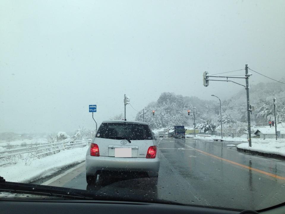 松葉ガニの降雪シーズン、車で日本海側(山陰・但馬)に行きたい!!