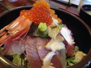 笑ら「海鮮丼」