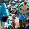 活イカシーズン☆初夏!ジオパークで食べる イカソーメン早食い大会