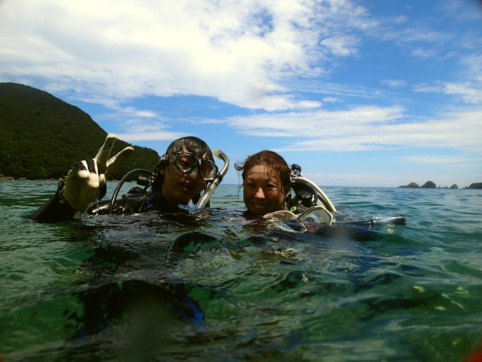 ダイビングに挑戦したいけど不安な方には体験ダイビングがオススメ