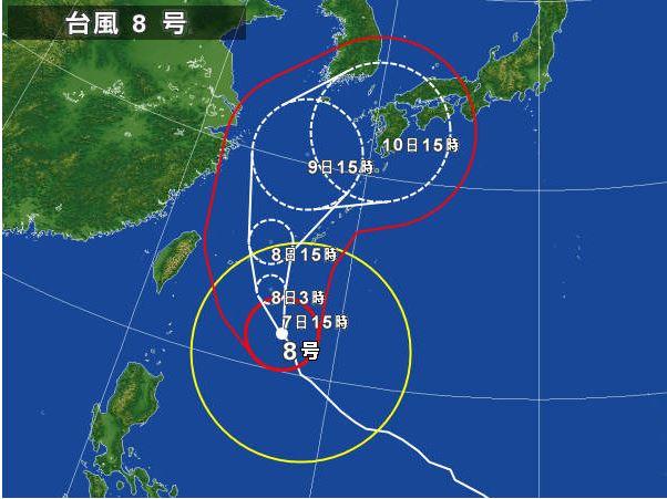 台風8号接近による「活イカプラン」について~台風と日本海の関係