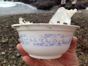 中国のカップがゆのデザイン