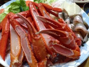 ジオ鍋の香住ガニ
