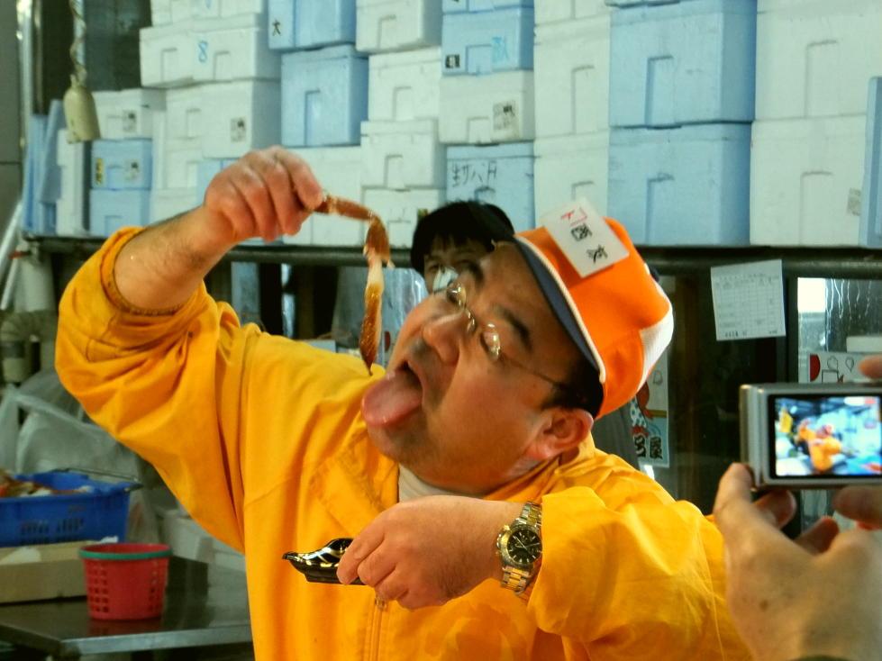 城崎オンパク☆香美町ツアーその2「香住ガニと松葉ガニの違いを知ろう」名物店長登場♪