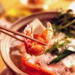 当館のカニ鍋は「かにちり」が基本、「かにすき」が希望の方は事前にお知らせ下さい