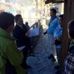 湯村温泉<夢千代の里>でまちあるきガイドに参加してきました
