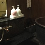 貸切露天風呂で冬に注意してほしいこと~シャワーとカランはどこにある?