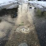 消雪水は雪以上に歩行を面倒にしますのでJR佐津駅までは送迎します!!