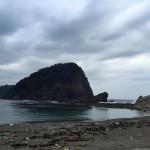 冬の日本海の漂着物からみる気づき~今子浦海岸にて