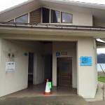 とてもきれいな佐津海水浴場のトイレは3箇所もあります