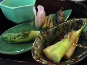 山菜料理2