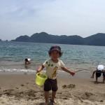 幼児さんの海遊び、水遊びは海開き前の今がお勧めな3つの理由