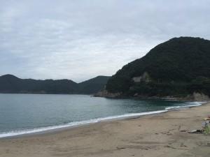 0718夕方の佐津海水浴場