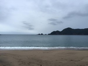 0719の朝の海