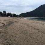 海辺の自由研究ネタにもなりそう?!佐津海水浴場での波の変化と跡