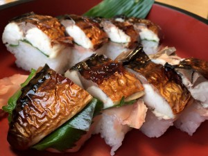 焼きサバ寿司定食