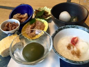 「三七十鮨」さんランチの小鉢