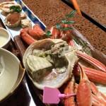 ゆでガニが松葉ガニとセコガニ、どちらも食べられるのが良い!☆お客様の声より