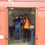 列車でとても便利☆城崎温泉駅から佐津駅はたったの2駅20分