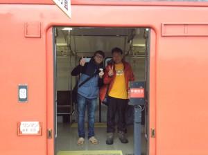 佐津駅にて