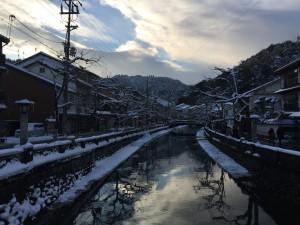 冬の城崎温泉2