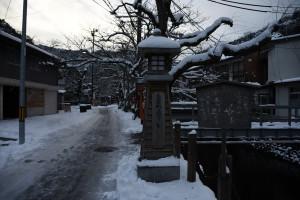 冬の城崎温泉4