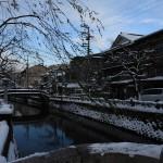 40年ぶり大寒波の日に「雪の城崎温泉」を撮影してきました♪