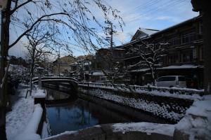 冬の城崎温泉5